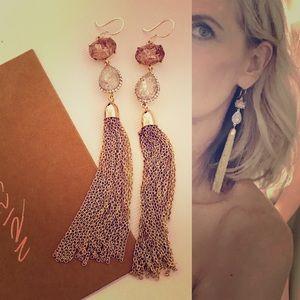 Jewelry - Glamour tassel earrings
